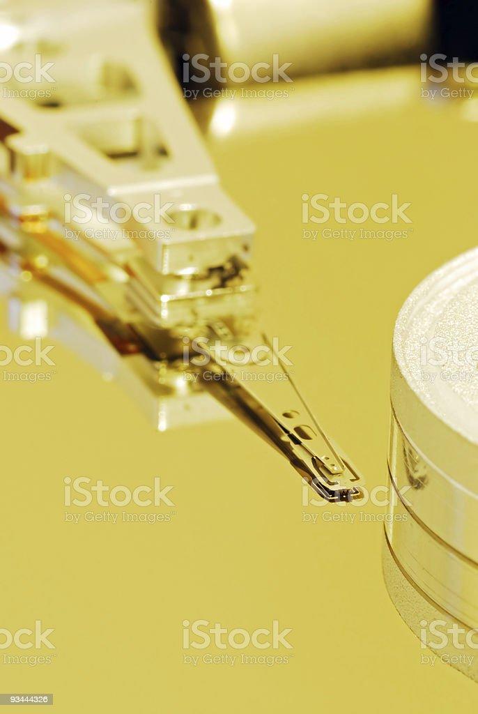 Festplatte innen Lizenzfreies stock-foto