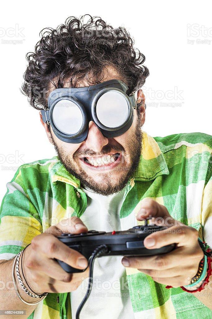 Hard gaming royalty-free stock photo