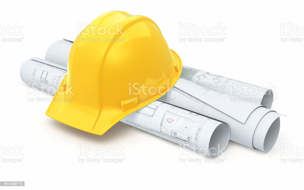 Hard hat stock photo