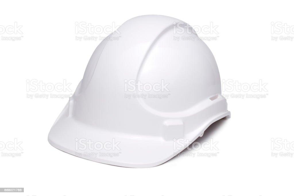 Hard Hat White stock photo