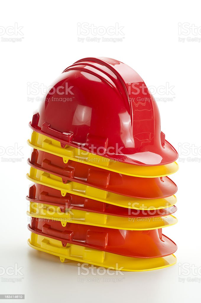 Hard Hats royalty-free stock photo
