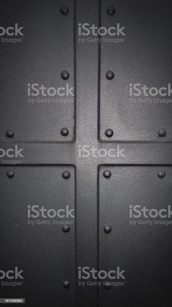 Hard metallic surface royalty-free stock photo