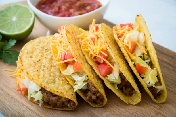 hard shell tacos - animal shell stock pictures, royalty-free photos & images