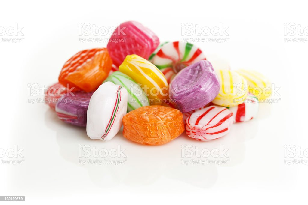 Hard Sugar Candy stock photo