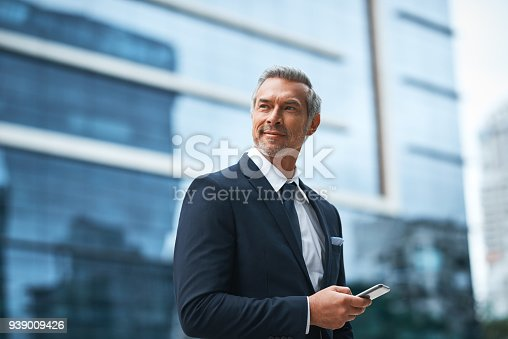 istock Hard work, determination, persistence creates a boss 939009426