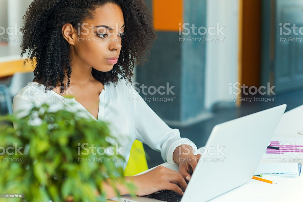 Hard work ensures success. stock photo