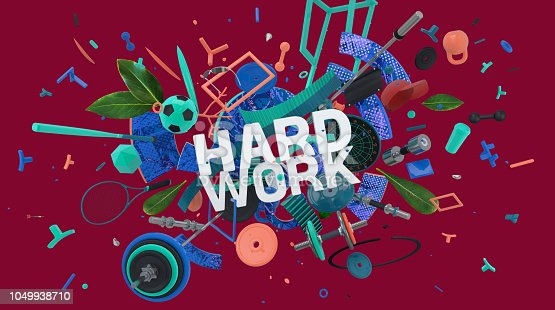istock hard work motivation card 1049938710