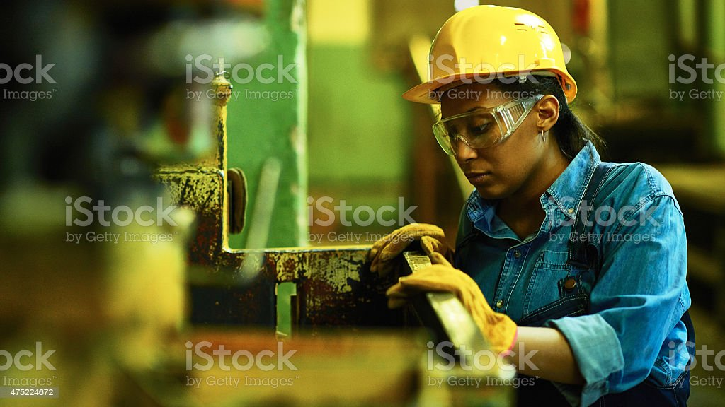 Hard work stock photo