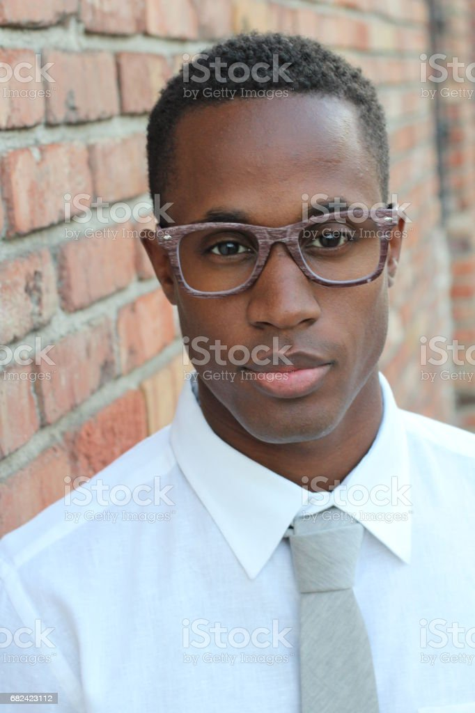 Hard worker trustable looking businessman royalty-free stock photo