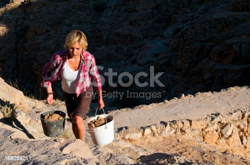 istock Hard working woman 168259211