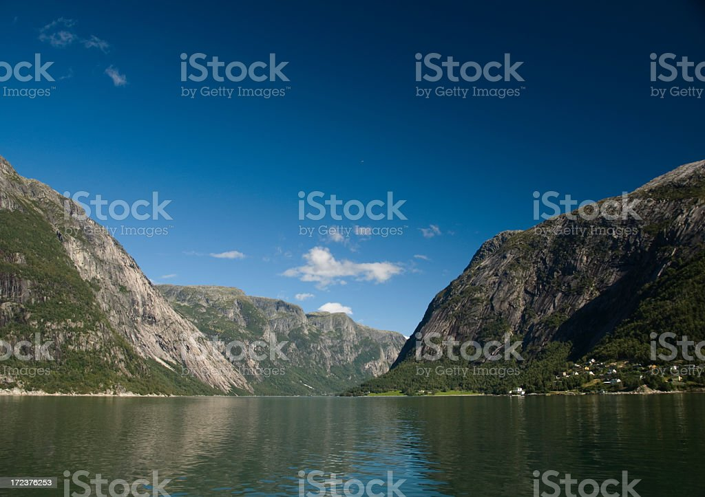 Hardangerfjord in Norway royalty-free stock photo