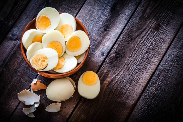 Hart gekochten Eiern – Foto