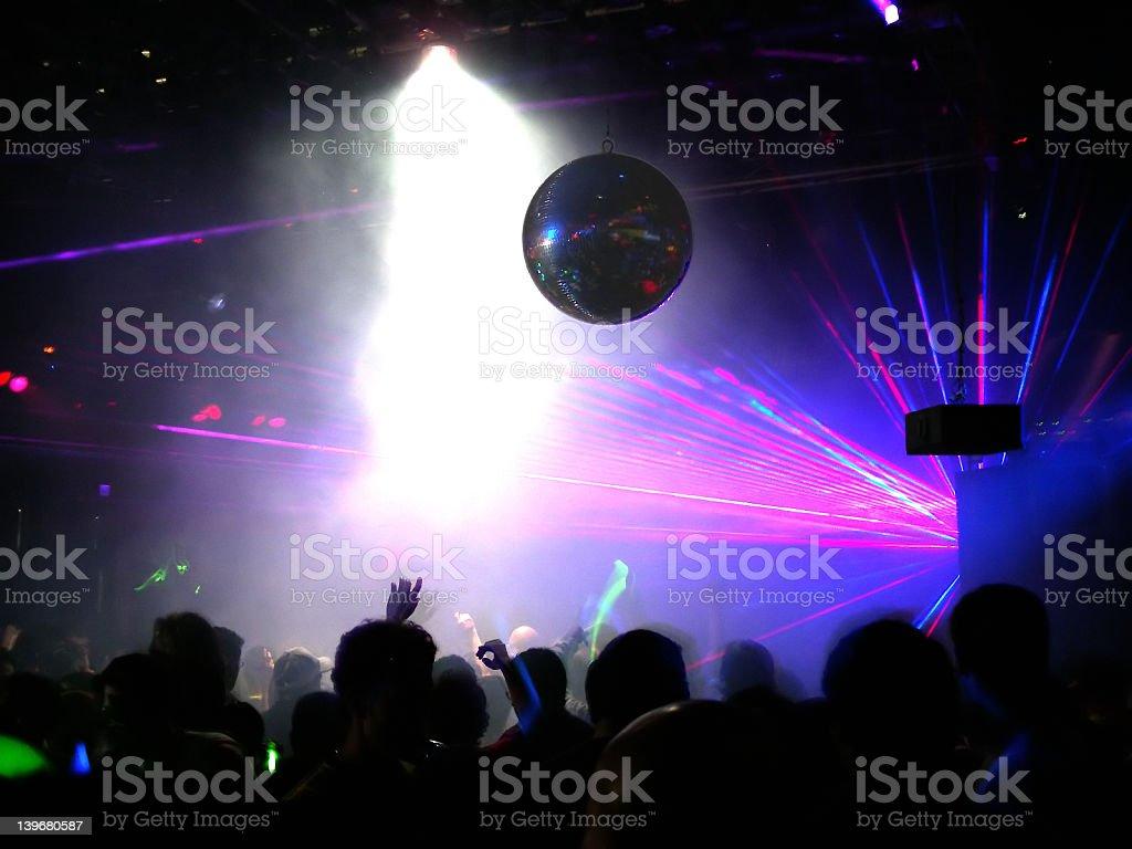 Hardcore Clubbers stock photo