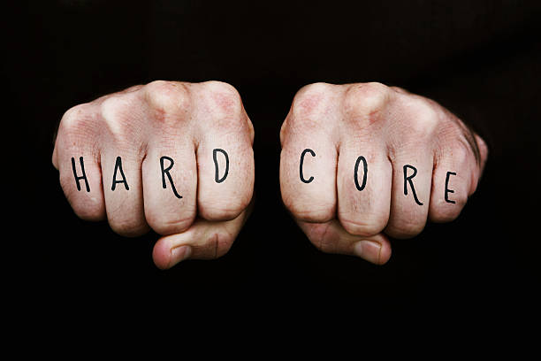 hardcore - knuckle stock photos and pictures