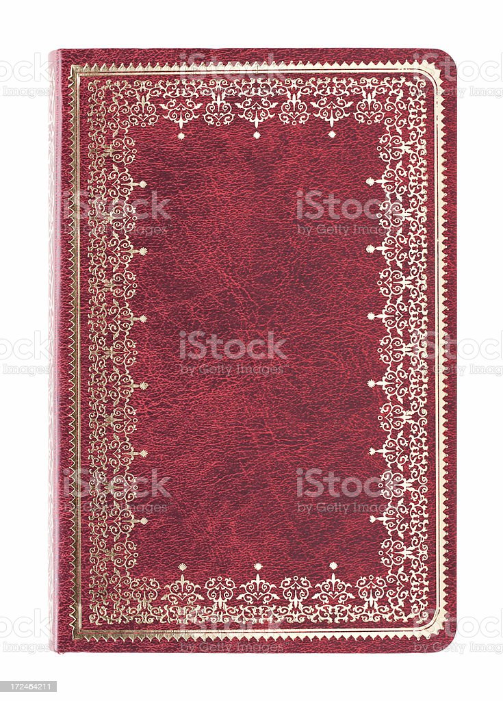 Hardcover book cover background textured stock photo