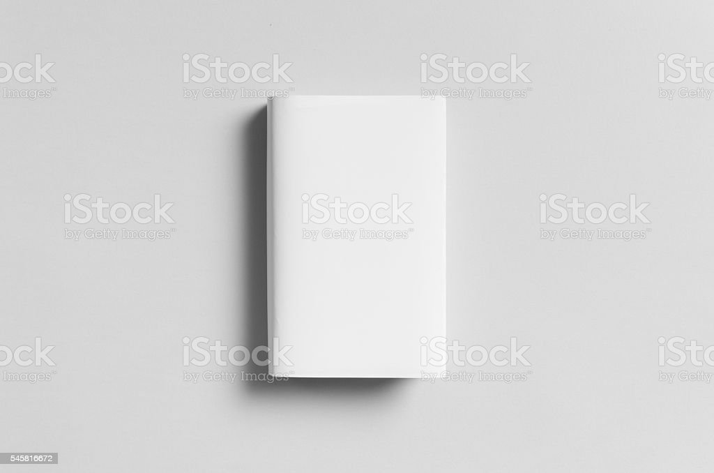 Hardcover Book Mock-Up - Dust Jacket. Front. - Photo