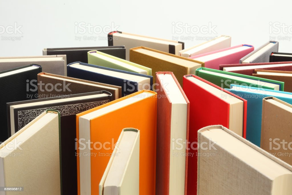 Hardcover Book stock photo