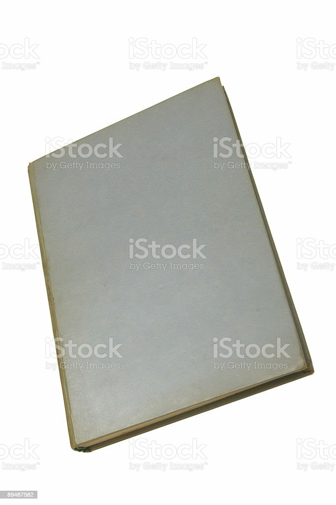 Hard-cover book royalty-free stock photo