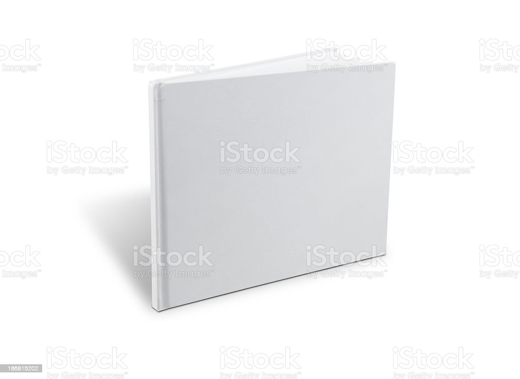 Hardcover Book Standing stock photo