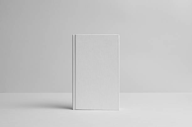 Hardcover Canvas Book Mock-Up- Front. Wall Background – Foto