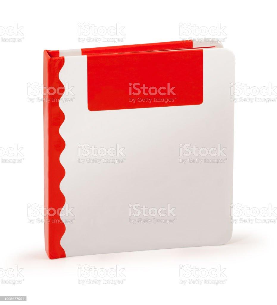 Hardcover Kid Buch - Clipping-Pfad – Foto