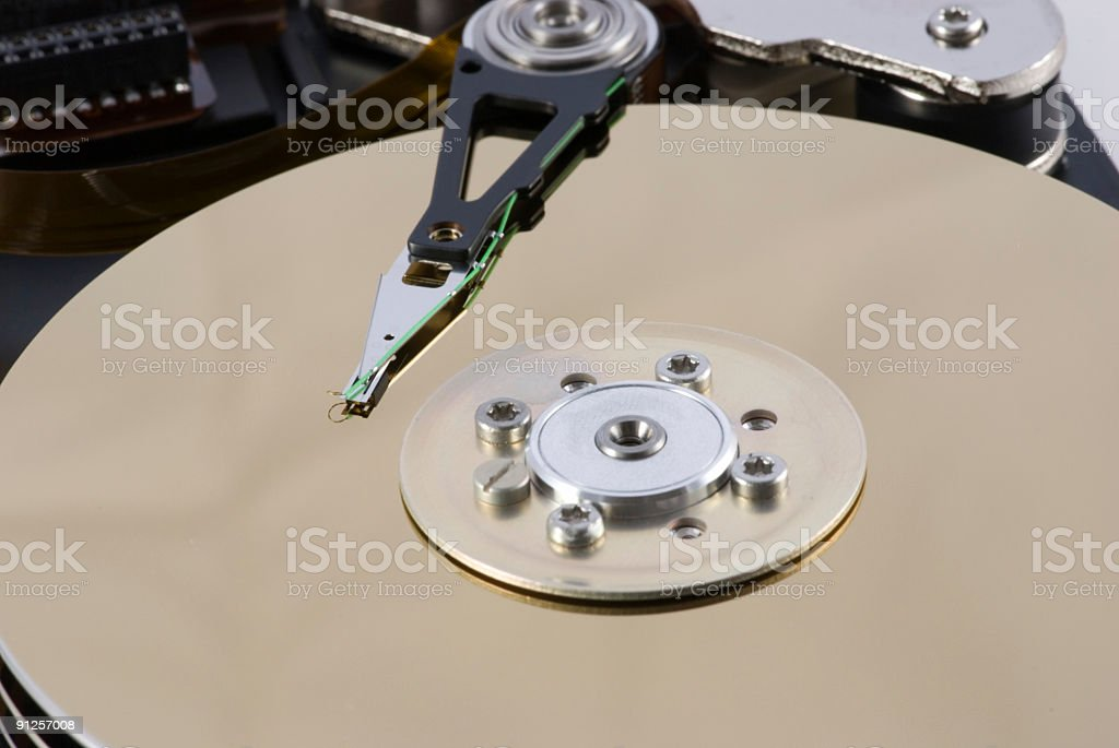 harddisk 1 royalty-free stock photo