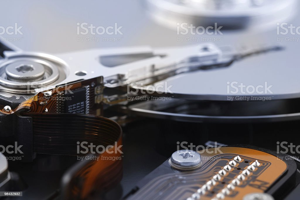 Harddisk royalty-free stock photo