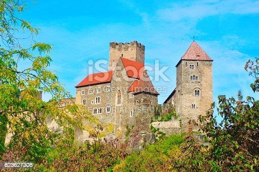 istock Hardegg castle 823627308