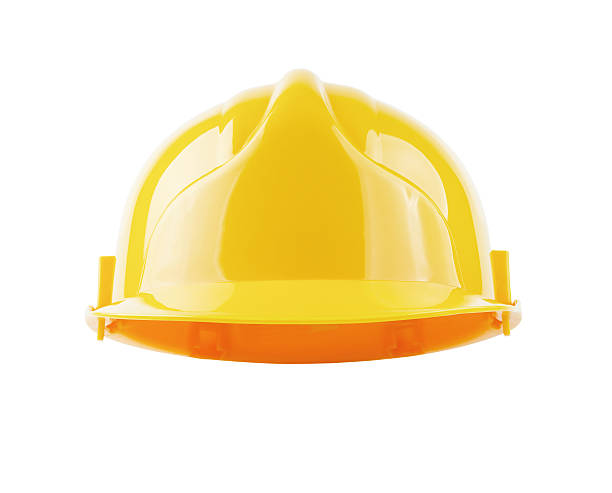 Hardhat isolated with clipping path stock photo