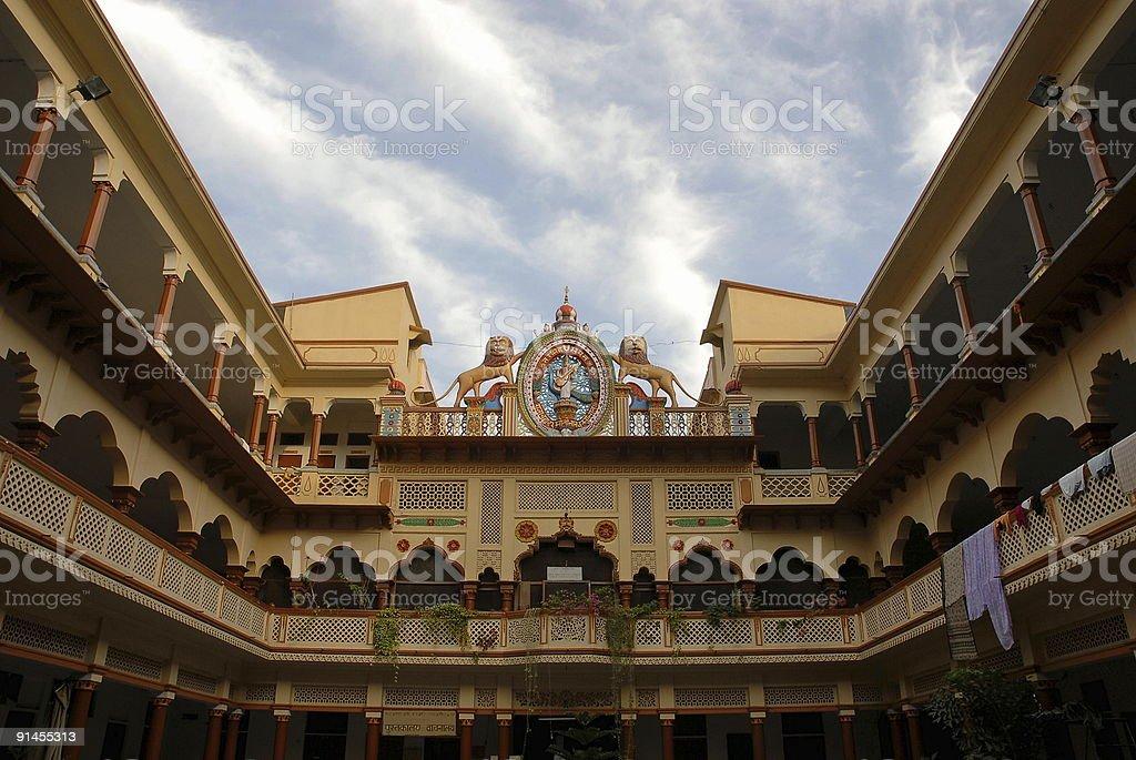 Hardiwar's old  building royalty-free stock photo