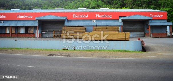 hardware and lumber store