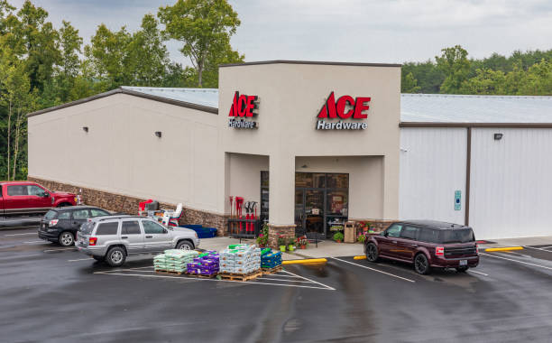 ACE Hardware store stock photo