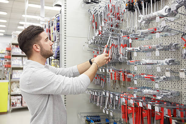 hardware store stock photo