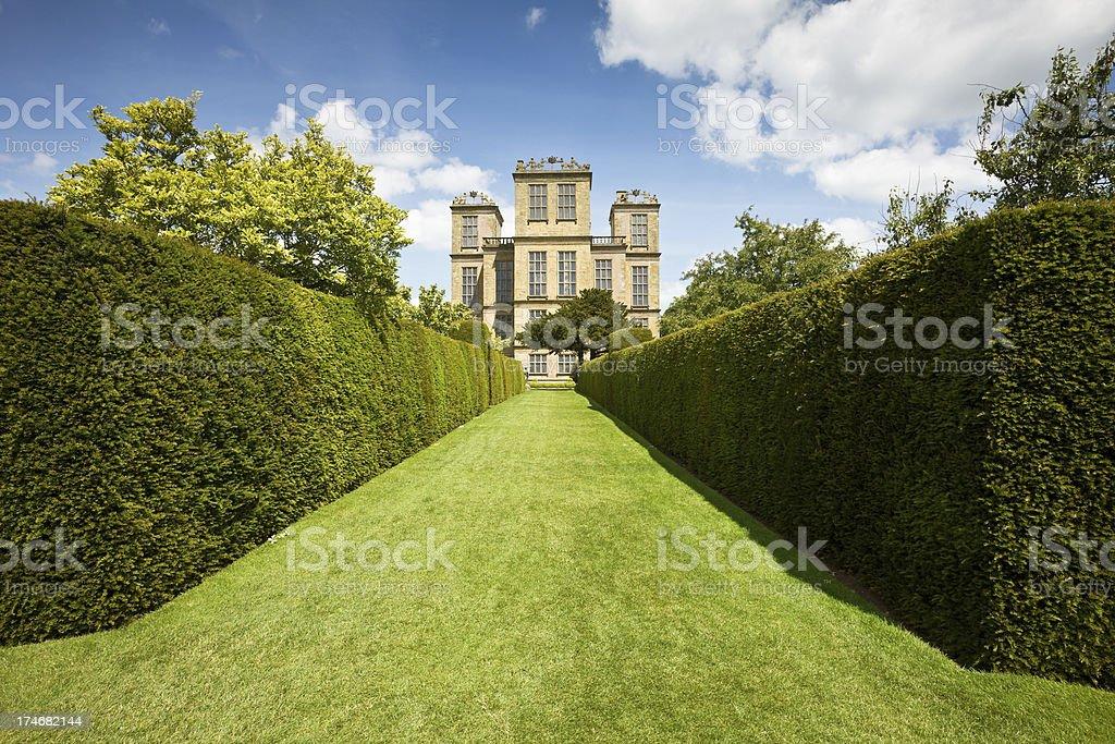 Hardwick Hall stock photo