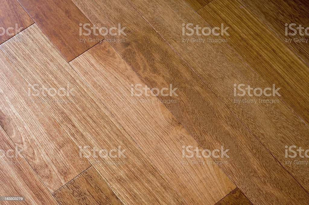 Hardwood Floor 2 royalty-free stock photo