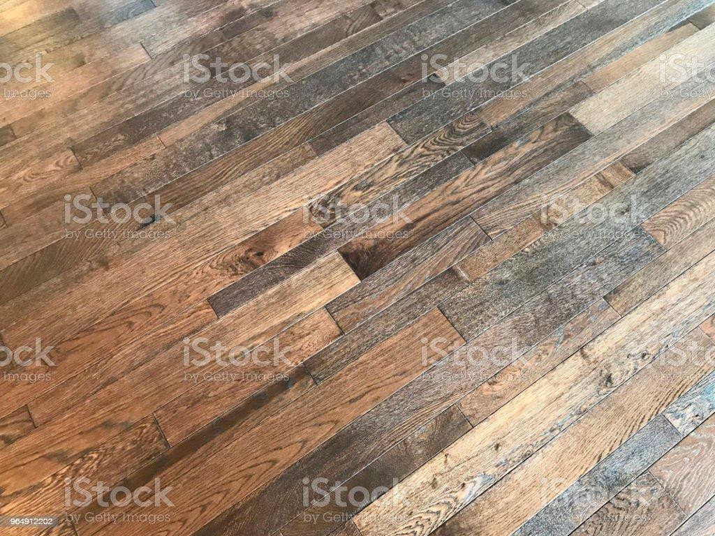 Hardwood Floor royalty-free stock photo