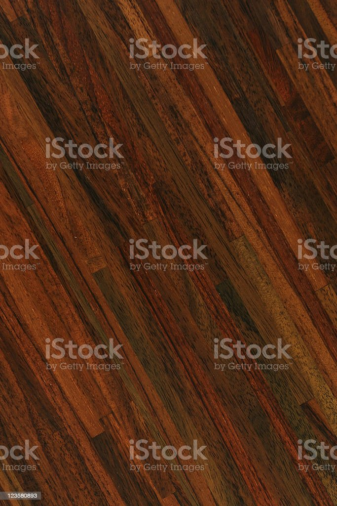 Hardwood floor - Rosewood royalty-free stock photo