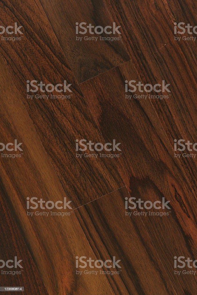 Hardwood floor - Rosewood royalty-free stock photo