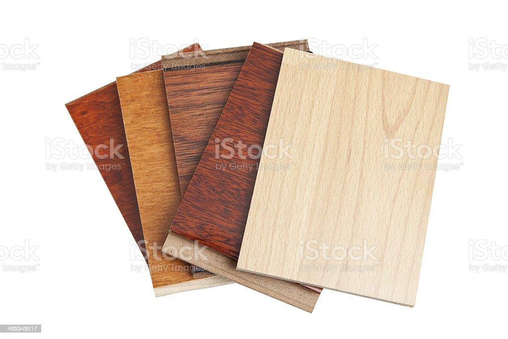 Amostras de piso de madeira-de-lei - foto de acervo