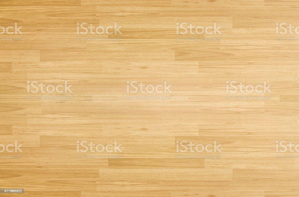 Terrain de basket en bois d'érable étage vus de dessus - Photo