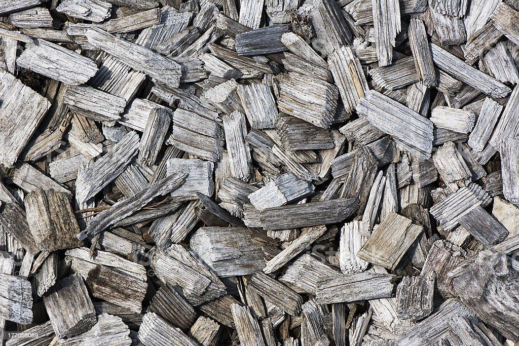 Hardwood Mulch stock photo