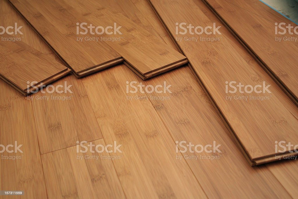 Hardwood Planks stock photo