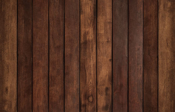 hardwood texture background - dark wood texture stock photos and pictures