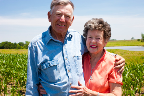 istock Hardworking Farm Couple Octagenarians Stand the Test of Time 161149473