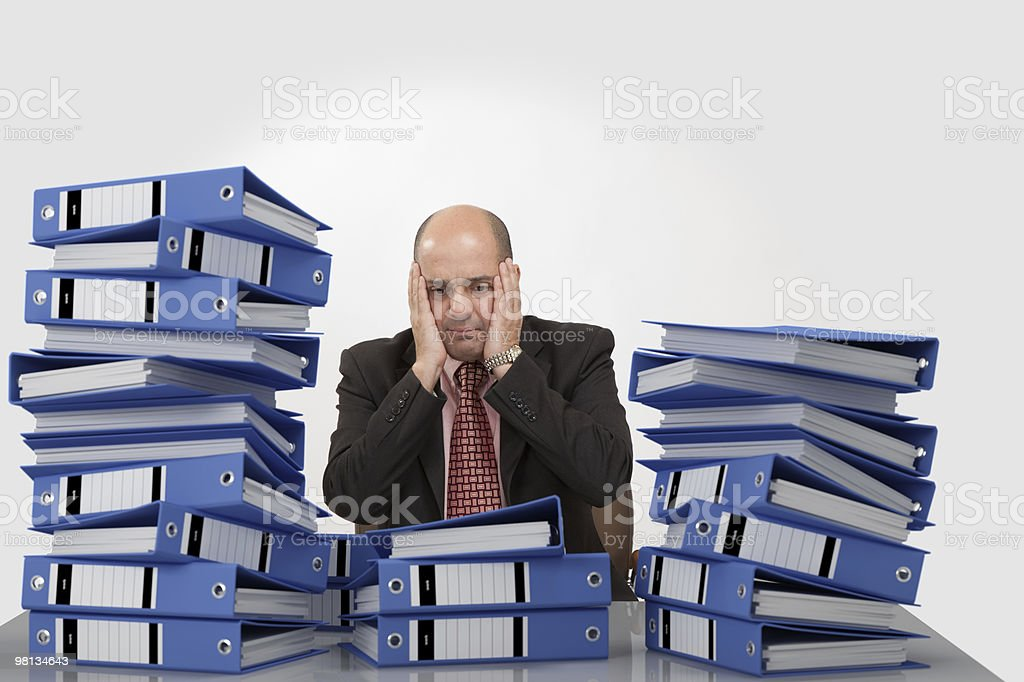 Hardworking royalty-free stock photo