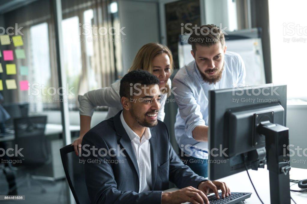 Fleißigen Team Kollegen – Foto