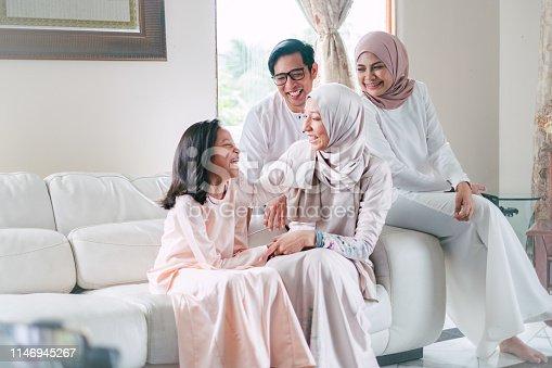 Hari Raya Aidilfitri Celebration in Malaysia