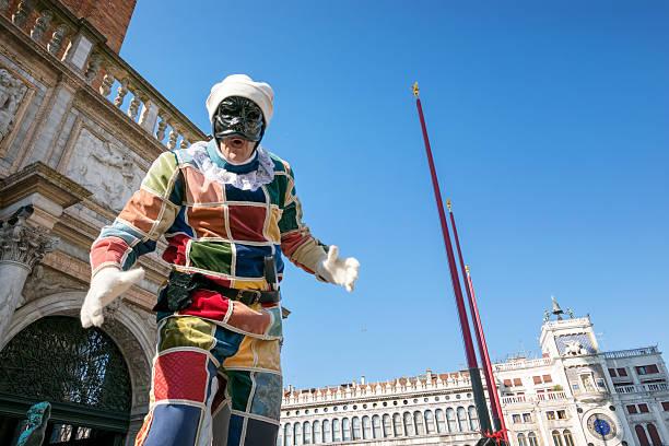 Plectorhinchus en carnaval de venecia - foto de stock