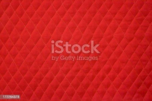 Red harlequin background.