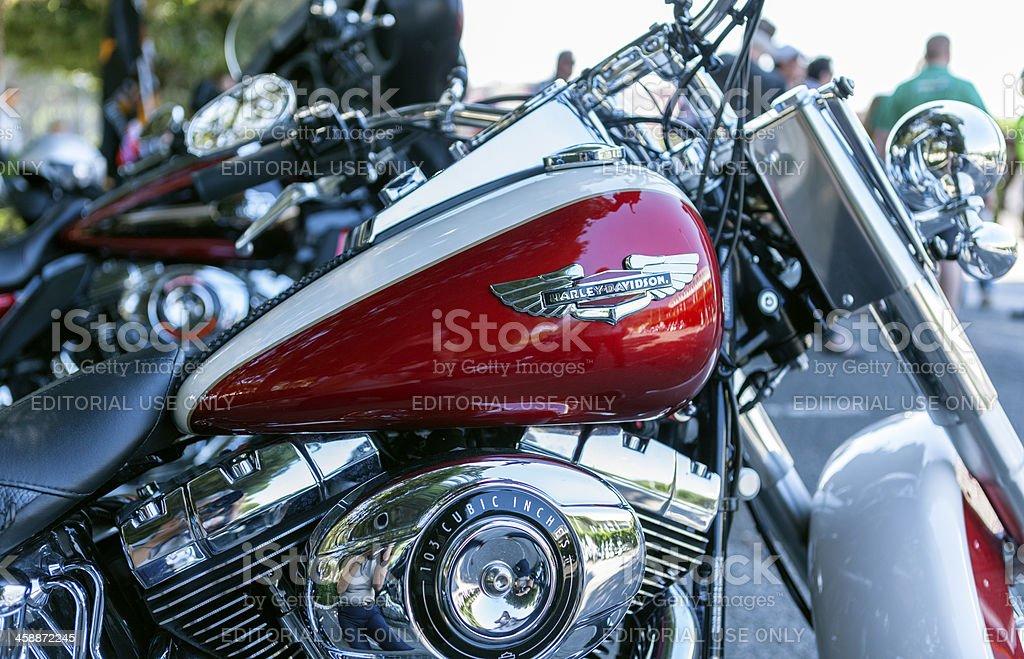 Harley Davidson royalty-free stock photo